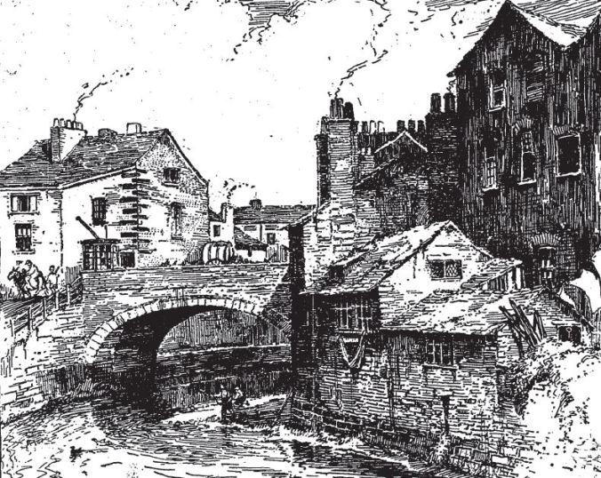 Angel Meadow in 1819